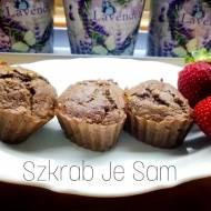 Czekoladowe Orzechowe babeczki z kasza gryczana - bez cukru i mąki