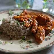 Szybkie curry z piersi kurzych