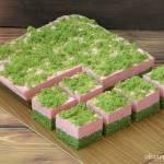 Kostka truskawkowe pole