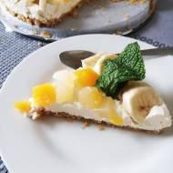 Tarta Bez pieczenia z Maskarpone i owocami