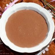 Czekoladowo-bananowy pudding z kaszy manny (bez cukru)