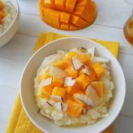Kokosowa jaglanka z mango (Miglio dolce al cocco e mango)