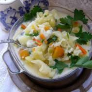 kalafiorowa zupa...