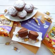 Bananowe muffinki z karmelową niespodzianką – przepis krok po kroku