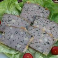 Pieczeń z indyka z serem i szpinakiem