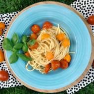 Poniedziałek: spaghetti aglio e olio z małym przekrętem