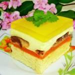 Ciasto z Kubusiem i delicjami