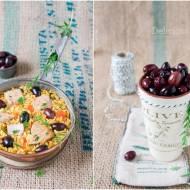 Paella z tuńczykiem i oliwkami / Paella with tuna and olives