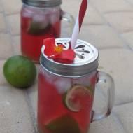 Żurawinowa limonka- drink.