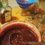 Dżem czereśniowy z nektarynkami i amaretto