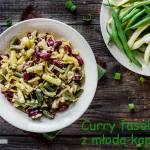 Fasolowe curry z młodą kapustą
