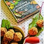 Pieczone klopsiki z ciecierzycy oraz recenzja ksiązki - Roślinny Lunchbox dla każdego.