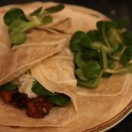 Tortilla ze schabem i przyprawą curry