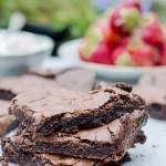 Ciasto czekoladowe lekko ciągnące