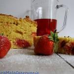 Drożdżowiec z truskawkami