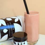 Truskawkowo-kokosowy koktajl kolagenowy :)