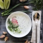 Chłodnik ogórkowy z jogurtem naturalnym