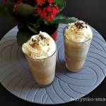 Kawa mrożona z lodami waniliowymi