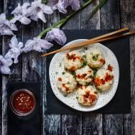 Chińskie bułki z wieprzowiną  bez parownika – smażone i gotowane Sheng Jian Bao