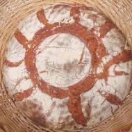 Chleb pszenno – żytni z mąką z pestek dyni