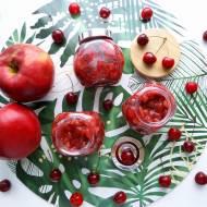 Frużelina czereśniowo-jabłkowa – przepis krok po kroku