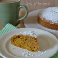 Puszkowana dynia jest zawszew sezonie... Czyli ciasto dyniowe latem...