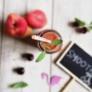 Sposób na koktajl: Brzoskwiniowo-czereśniowe smoothie
