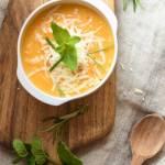 Zupa – krem z batatów, dyni i oscypka