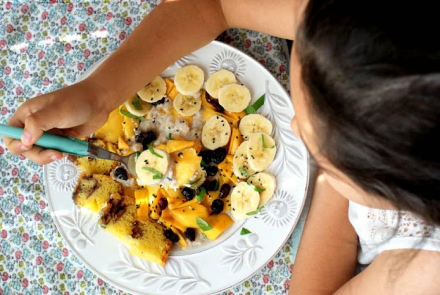 Przepis Na Owsianka Naturalna Z Owocami Z Kuchni Do Kuchni