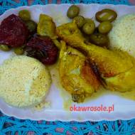 Podudzia z kurczaka po marokańsku