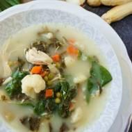 Wiosenna zupa ze szczawiem