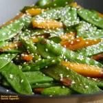 Młode warzywa z woka