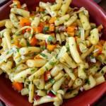 Sałatka z fasolki szparagowej do obiadu
