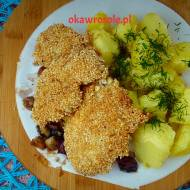 Filet z kurczaka w sezamie
