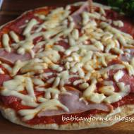 pizza z patelni - szybka kolacja