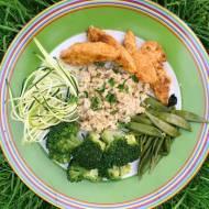 Środa: Polędwiczki z ryżem a la pilaf
