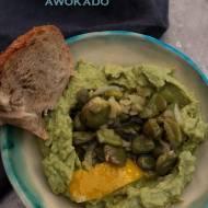 Pasta z bobu i awokado