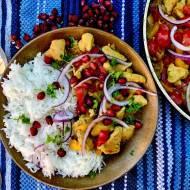 Perskie curry z kurczakiem