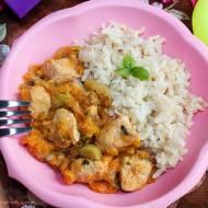 Pierś z indyka z cukinią, marchewką i porem, czyli lekki obiad nie tylko dla dzieci