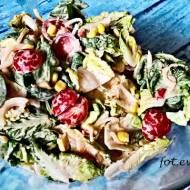 Sałatka grillowo obiadowa