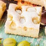 Ciasto cytrynowe z agrestem