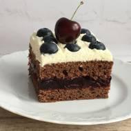 Ciasto z czereśniami i mascarpone