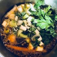 Krem z porów. Zupa wegańska - wersja numer 2, bez ziemniaków