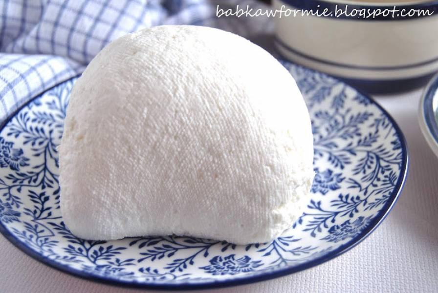 domowy twaróg (biały ser) - kuchnia regionalna (Kujawy)