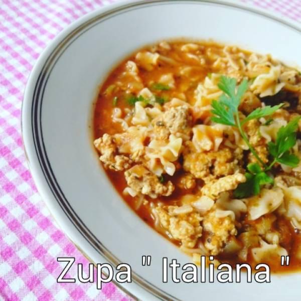Przepis Na Pyszna Zupa Italiana Kocurkowe Rozmyslania W Kuchni