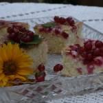 Błyskawiczne ciasto z porzeczkami