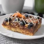 Przepis #154 Kruche ciasto z kremem czekoladowym oraz owocami