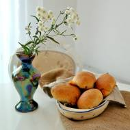 Bułeczki z płynącym serem