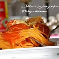Makaron spaghetti z pulpetami