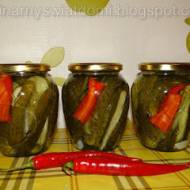 Ogórki z chili
